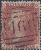 1856 1d Red SG32 Plate 29 'IA'